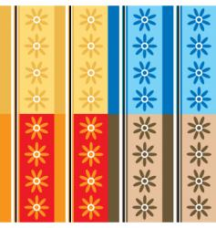 Seventies petal vector