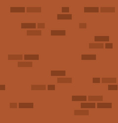 simple brick wall pattern vector image