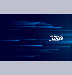 speed lines moving in forward motion background vector image