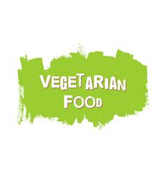 Vegetarian healthy food fresh vegan eco bio vector
