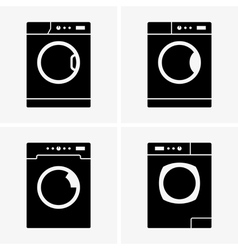 Washing machines vector