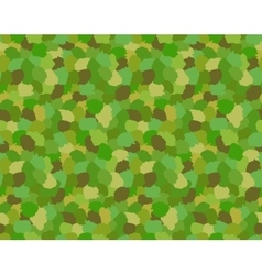 Green Camouflage Military Pattern vector image vector image