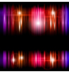 Abstract shiny colorful lines background vector image vector image