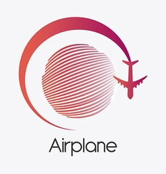 Airplane design vector