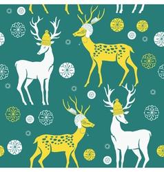 Deer print vector