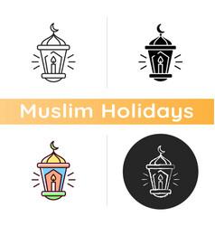 Eid al fitr icon vector