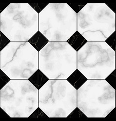 marble luxury check seamless pattern vector image