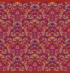 Multicolor abstract geometrical floral mosaic vector