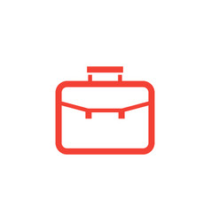 portfolio icon linear style vector image