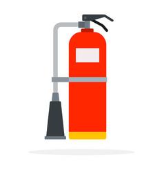 powder-type fire extinguisher vector image