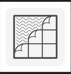 Pvc tile floor or floor finishing material icon vector