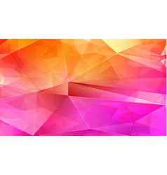 Rose triangle pattern abstract background vector