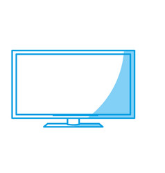 Television icon vector