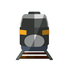 Fast train vehicle vector