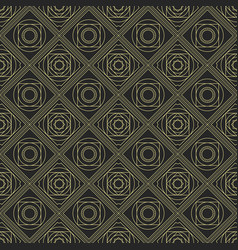 abstract seamless pattern with symmetric vector image
