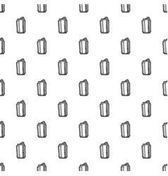 beer can pattern seamless vector image