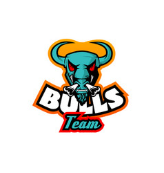 Bull logo template high resolution image vector