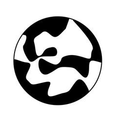 Celestial body icon image vector