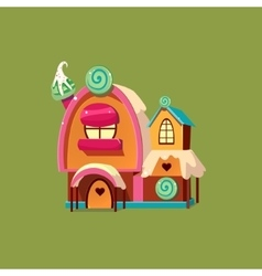 Cute Candy House vector