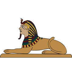 egyptian sphinx vector image