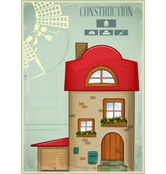 Infographics Country Construction vector image