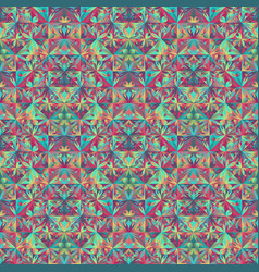 Polygonal abstract geometrical floral triangle vector