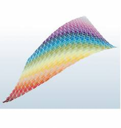 Rainbow puzzle vector