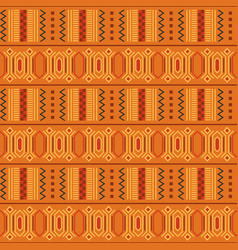 tribal ornament seamless african pattern vector image