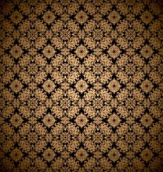 gold leaf wallpaper vector image