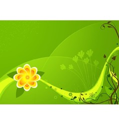 Colored Flower And Floral vector image vector image