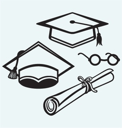 Student accessories vector image