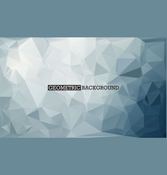mosaic grey background low poly vector image