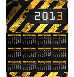 abstract calendar vector image