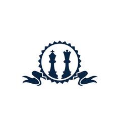 chess award strategy vector image