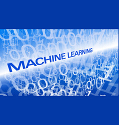 deep neural network machine learning symbol vector image