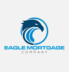 eagle emblems or eagle logos vector image