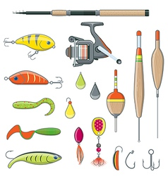 Fishing Equipment and Tools vector