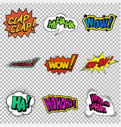 Funny sound effect vector