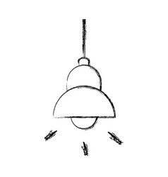 Lamp bulb ceiling element of interior modern vector