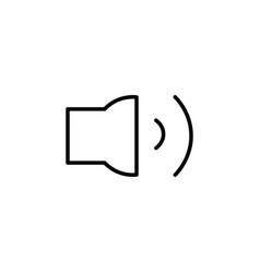 medum volume icon vector image