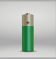 realistic alkaline battery vector image