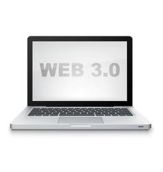 web 30 vector image