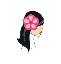 Hawaiian-Girl-380x400 vector image