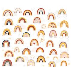 barainbow vector image