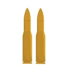 Bullet ammunition firearm vector