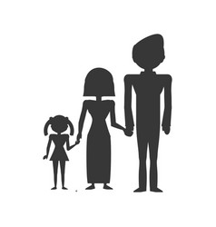 Couples family son vector