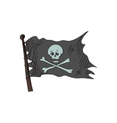 Doodle Jolly Roger vector