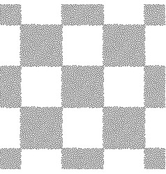 dots chess board seamless pattern abstract vector image