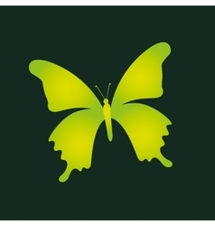 eco book environment butterfly graphic vector image