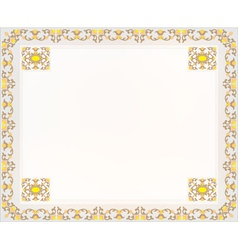frame design for card vector image